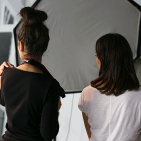 Behind the scene. Pic 4