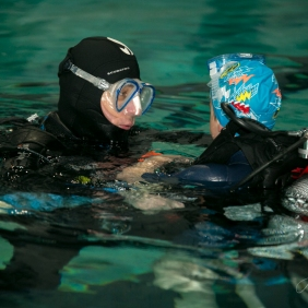 Diving lesson. Pic 10