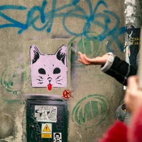 Krakow street art tour. Pic 8