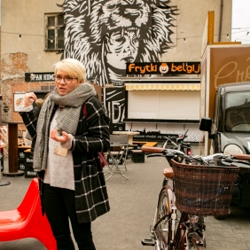 Krakow street art tour. Pic 4