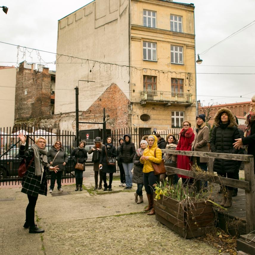 Krakow street art tour. Pic 1
