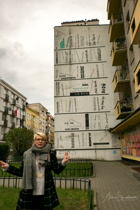 Krakow street art tour. Pic 16