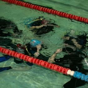 Diving lesson. Pic 5