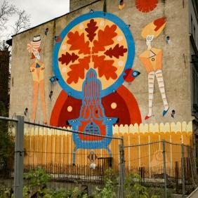 Krakow street art tour. Pic 14