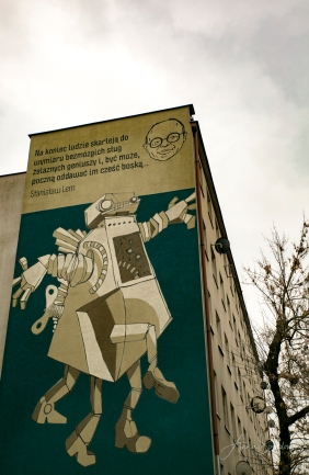 Krakow street art tour. Pic 13