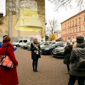 Krakow street art tour. Pic 12