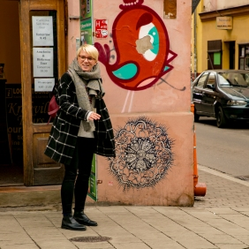 Krakow street art tour. Pic 10