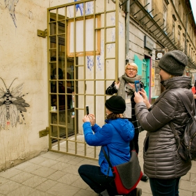 Krakow street art tour. Pic 9