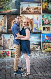 In Krakow, in love. Pic 1
