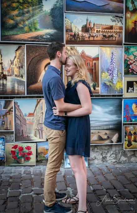 In Krakow, in love. Pic 2
