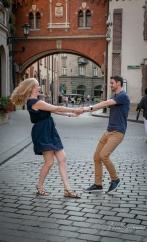 In Krakow, in love. Pic 6